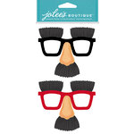 EK Success - Jolee's Boutique - Dress Ups Collection - 3 Dimensional Stickers - Noses and Glasses