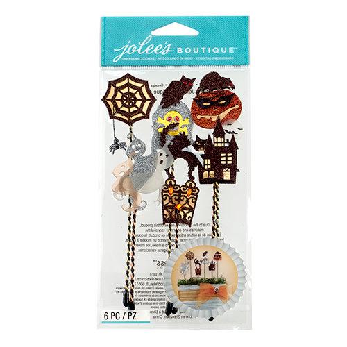 EK Success - Jolee's Boutique - Halloween 2013 Collection - 3D Stickers - Silhouette Sticks