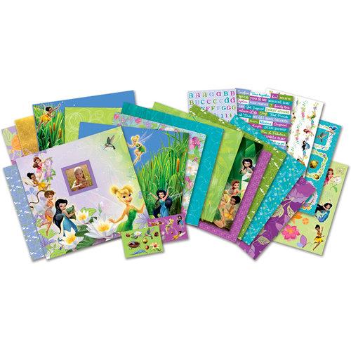 EK Success - Disney Collection - 12 x 12 Scrapbook Album Kit - Tinkerbell