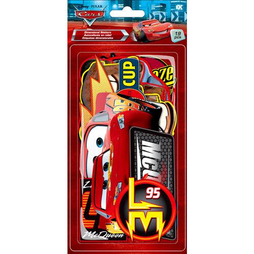 EK Success - Disney Collection - Chipboard Pieces - Cars