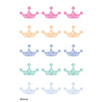EK Success - Disney Collection - Bling - 3 Dimensional Stickers - Princess Crown Gems