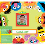 EK Success - Sesame Street Collection - 12 x 12 Album - Frame a Name