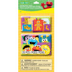 EK Success - Sesame Street Collection - Layered Accents with Varnish Accents - Character Faces