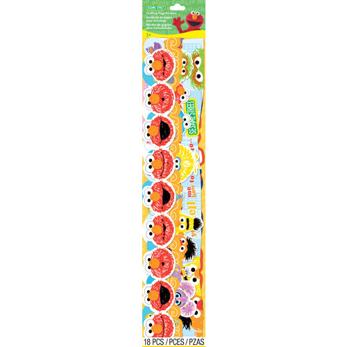 EK Success - Sesame Street Collection - Border Stickers - Characters