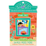 EK Success - Sesame Street Collection - Chipboard Box with Varnish Accents - Blocks