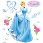 EK Success - Disney Collection - 3 Dimensional Stickers with Epoxy Foil and Gem Accents - Cinderella