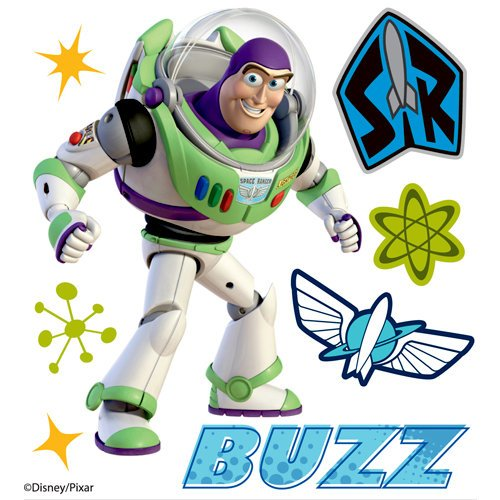EK Success - Disney Collection - 3 Dimensional Stickers with Epoxy Foil and Varnish Accents - Buzz Lightyear