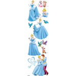 EK Success - Disney Collection - 3 Dimensional Stickers with Varnish Accents - Cinderella