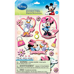 EK Success - Disney Collection - Mickey Family - 3 Dimensional Stickers with Gem and Glitter Accents - Girls