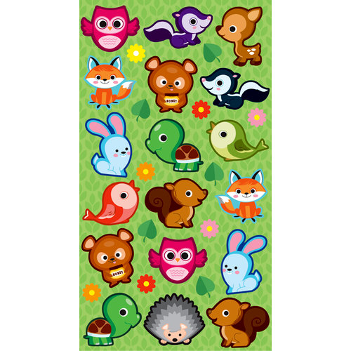 EK Success - Sticko Classic Stickers - Cutie Critters