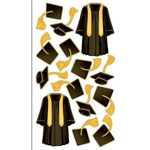 EK Success - Sticko Graduation Collection - Stickers - Cap N Gown