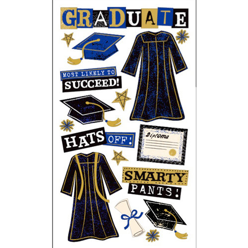 EK Success - Sticko Graduation Collection - Stickers - The Graduate