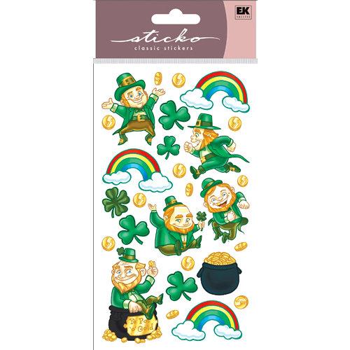 EK Success - Sticko Classic Collection - Stickers - Leprechaun Riches