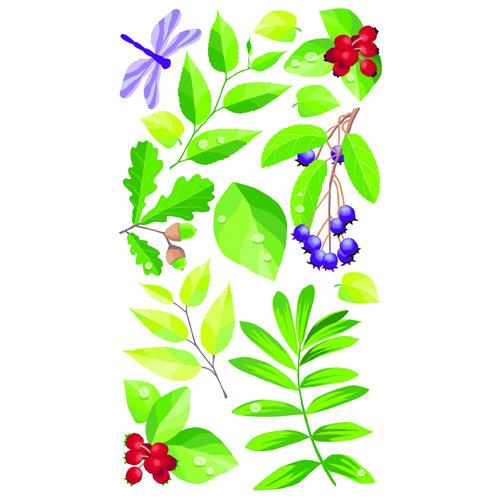 EK Success - Sticko Classic 58 Stickers - Spring Leaves