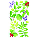 EK Success - Sticko Classic 58 Stickers - Spring Leaves
