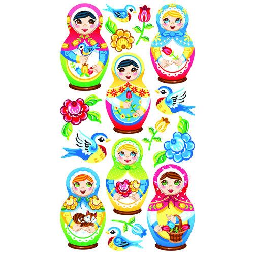 EK Success - Sticko Classic 58 Stickers - Babushka Babies