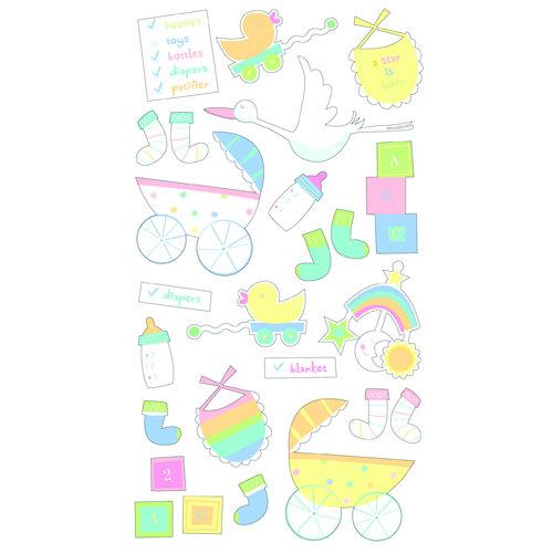 EK Success - Sticko Classic 58 Stickers - Baby Checklist