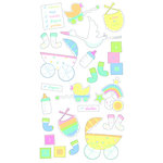 EK Success - Sticko Classic 58 Stickers - Baby Checklist