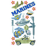 EK Success - Sticko Classic 58 Stickers - Marines