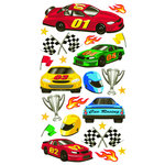 EK Success - Sticko Classic 58 Stickers - Race Cars