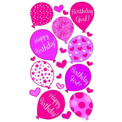 EK Success - Sticko Classic 58 Stickers - Birthday Girl