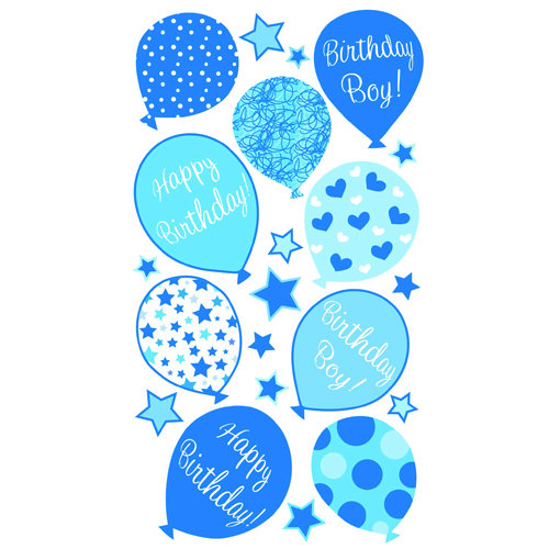 EK Success - Sticko Classic 58 Stickers - Birthday Boy