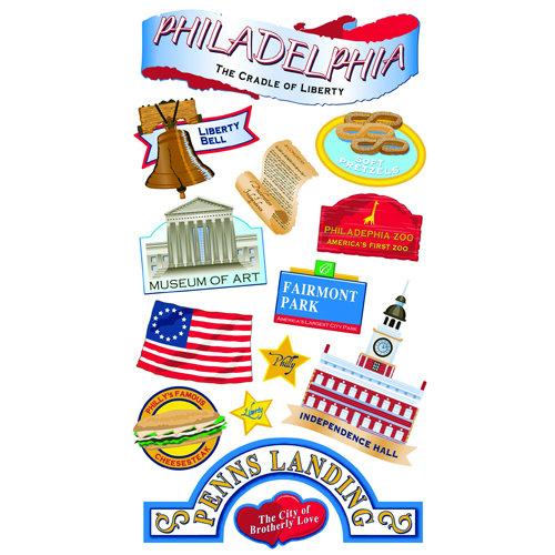 EK Success - Sticko Classic 58 Stickers - Philadelphia