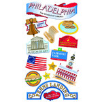 EK Success - Sticko Classic 58 Stickers - Philadelphia