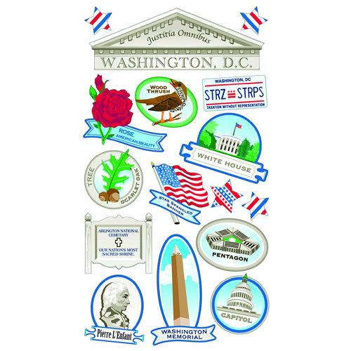 EK Success - Sticko Classic 58 Stickers - Washington DC