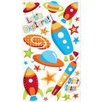 EK Success - Sticko Classic Collection - Stickers - Space Ships
