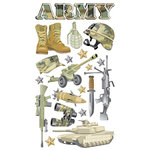 EK Success - Sticko Classic Collection - Stickers - Army