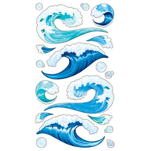EK Success - Sticko Classic Collection - Stickers - Tsunami