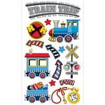 EK Success - Sticko Classic Collection - Stickers - Trains