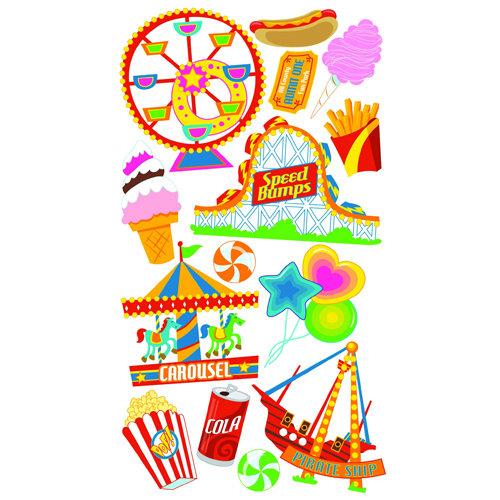 EK Success - Sticko Classic 58 Stickers - Amusement Park