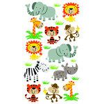 EK Success - Sticko Classic 58 Stickers - Zoo Cuties