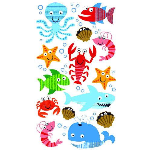 EK Success - Sticko Classic 58 Stickers - Sea Life Fun