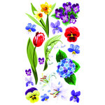 EK Success - Sticko Classic 58 Stickers - Floral Melody