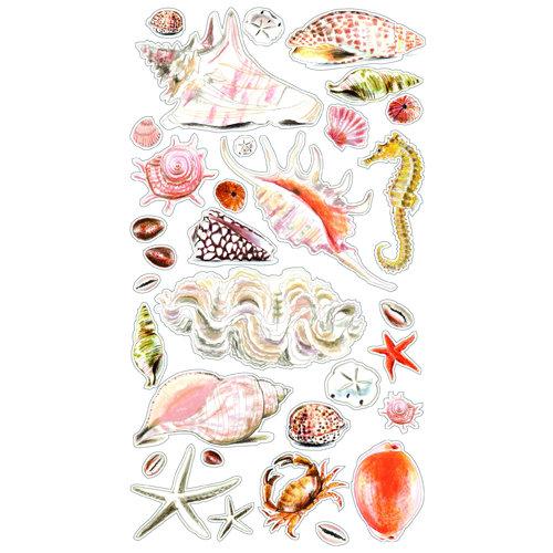 EK Success - Sticko Classic 58 Stickers - Sea Shells and Sand