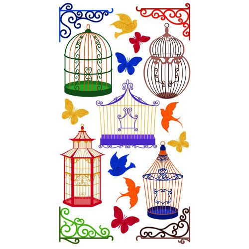 EK Success - Sticko Classic 58 Stickers - Bird Cages