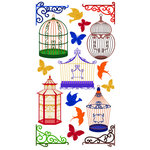 EK Success - Sticko Classic 58 Stickers - Bird Cages