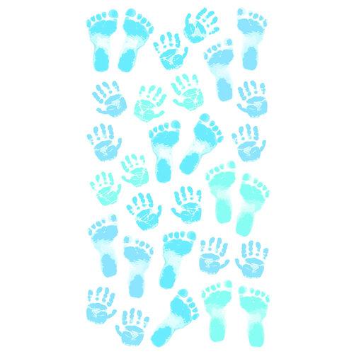 EK Success - Sticko Classic 58 Stickers - Pastel Baby Boy Prints