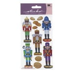 EK Success - Sticko Holiday Stickers - Christmas - Nutcrackers