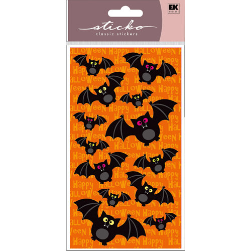 EK Success - Sticko Classic Stickers - Halloween - Bat Crazy