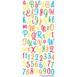 EK Success - Sticko Alphas Stickers - Large - Sweetheart - Multi