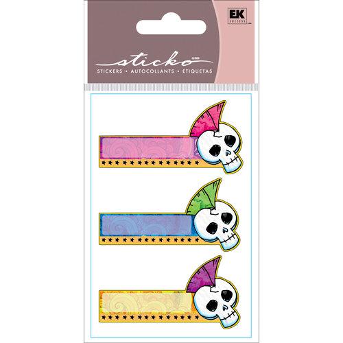 EK Success - Sticko Functionality - Stickers - Sticky Notes - Punk Skull