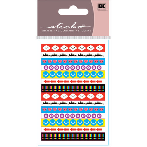 EK Success - Sticko Functionality - Stickers - Tape Strips - Icons