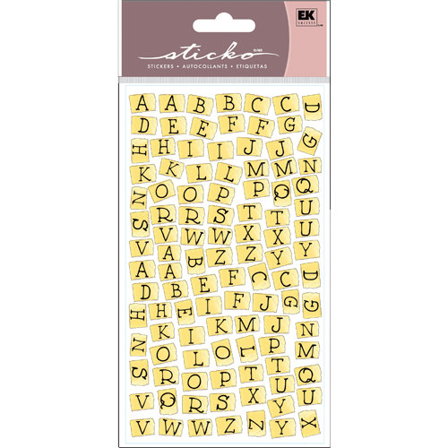 EK Success - Sticko Functionality - Stickers - Tape Alphabet