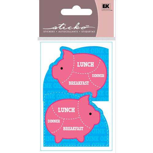 EK Success - Sticko Functionality - Stickers - Corner Pockets - I'm Dinner