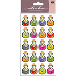 EK Success - Sticko Classic Stickers - Halloween - Halloween Potion Bottles