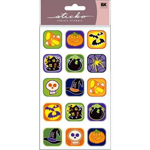EK Success - Sticko Classic Stickers - Halloween - Halloween Buttons
